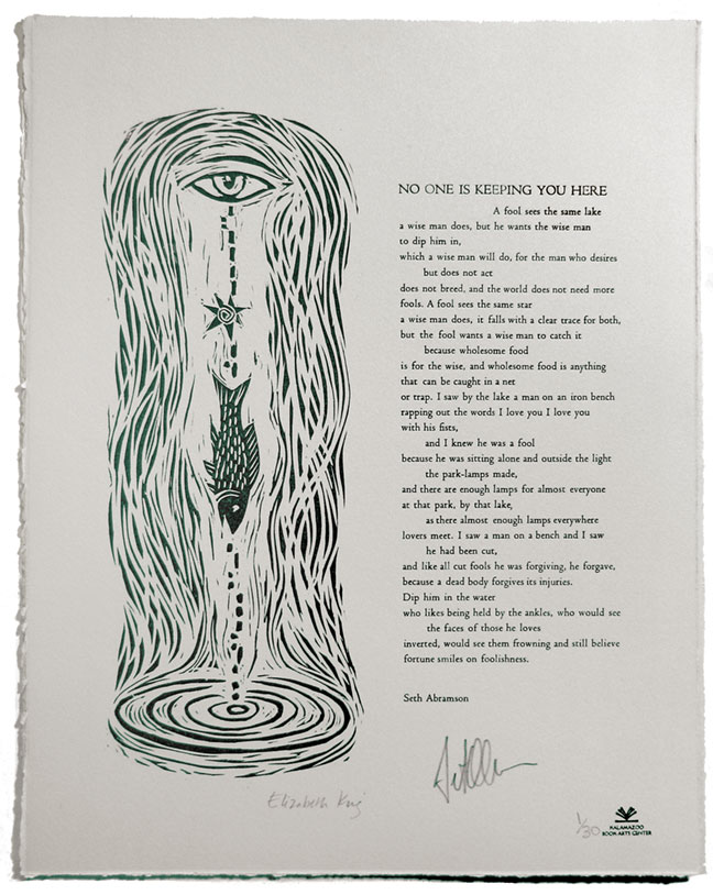 KBAC Poets in Print broadside